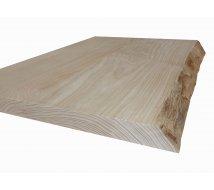 Devis Table en frêne olivier avec bord naturel