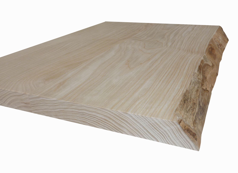 Table Avec Ecorce Bord Naturel Live Edge En Bois Brut Massif